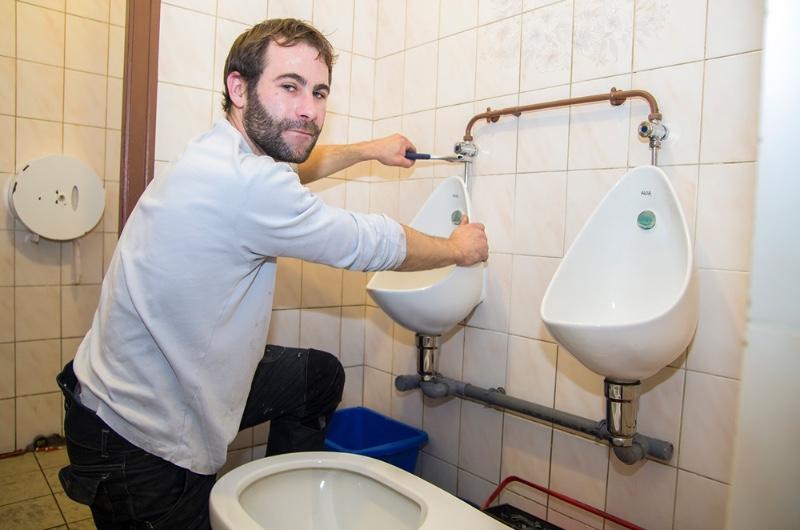 Le métier de plombier