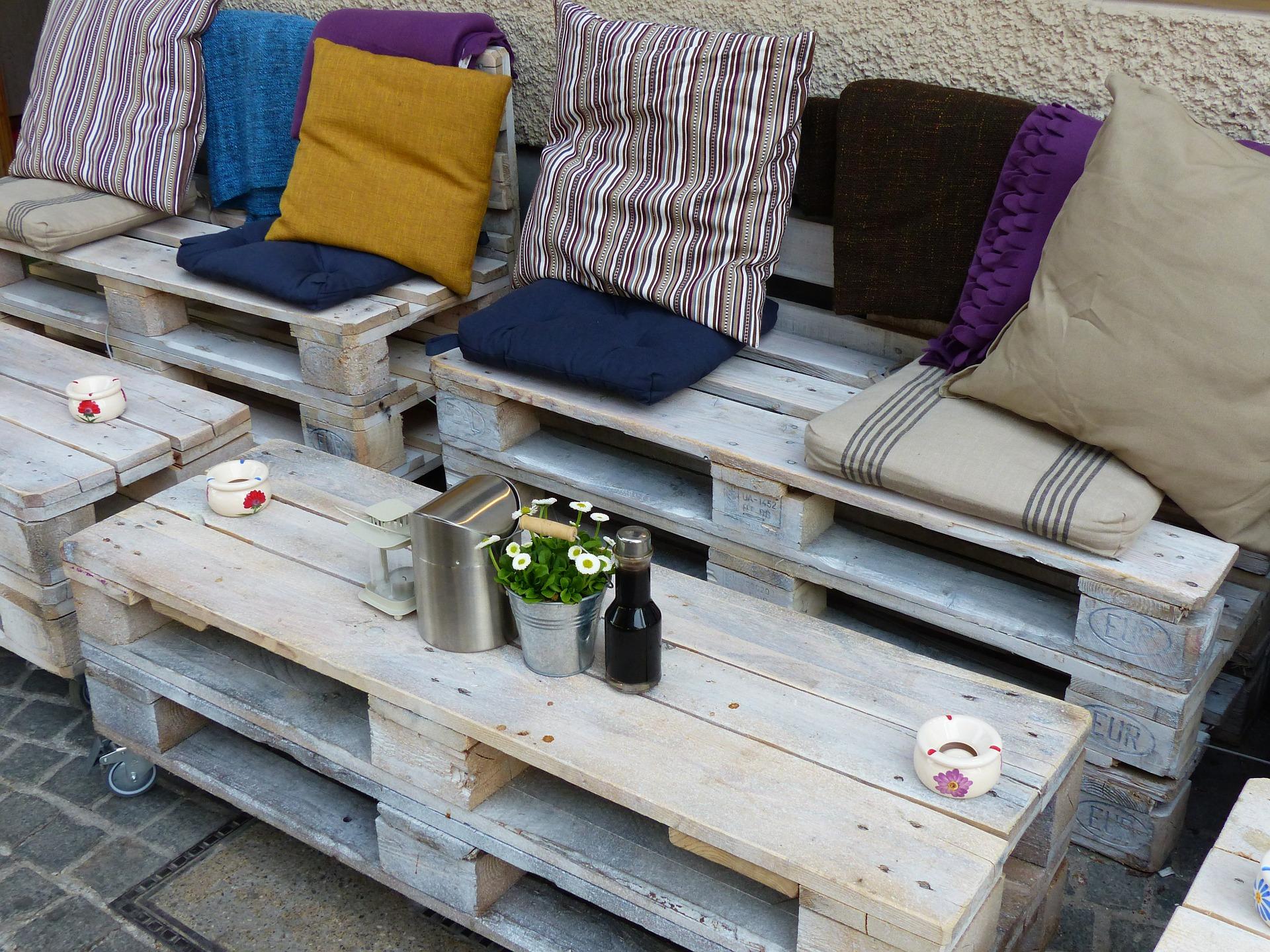 12 idées de décoration avec la palette en bois