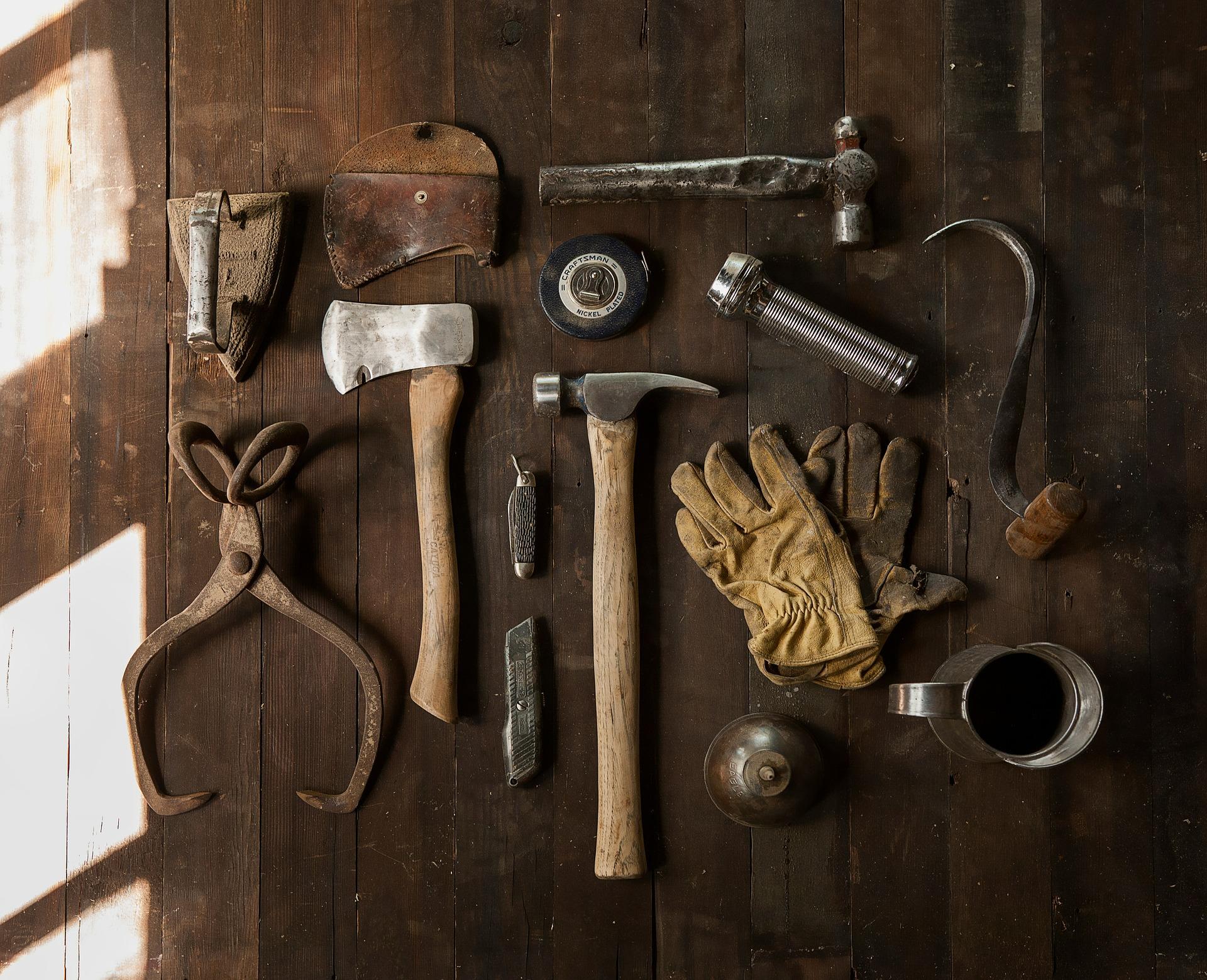 Brico et déco : les outils de bricolage
