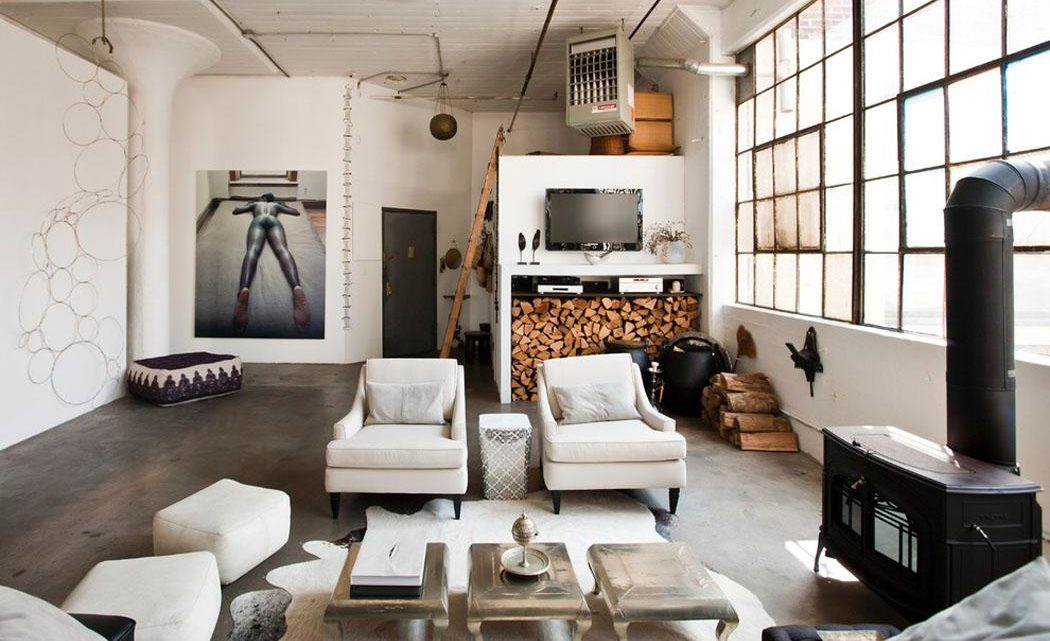 Les 5 règles d'or pour transformer votre intérieur en loft de style industriel