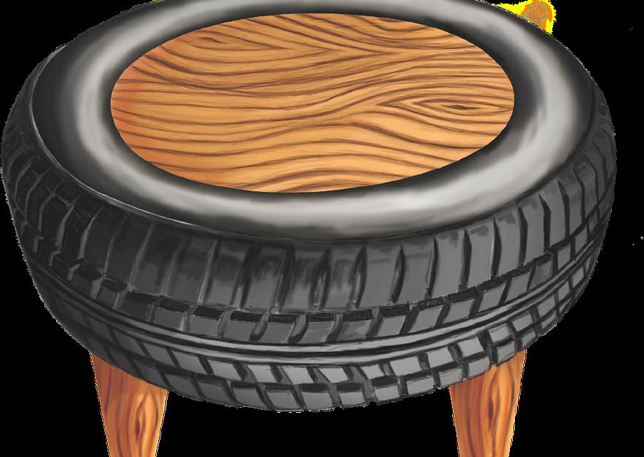 Que faire de ses vieux pneus?