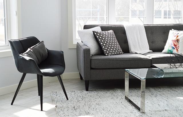 Les différents types de meubles les plus utilisés dans une maison