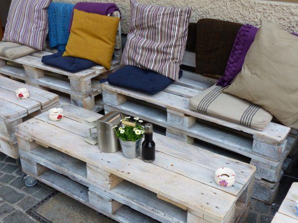 50 idées de meubles en palettes à réaliser soi-même