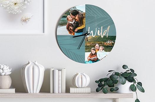 Horloge personnalisée: une idée originale pour décorer votre intérieur